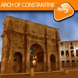 The mp3 audio visit Arch of Constantine