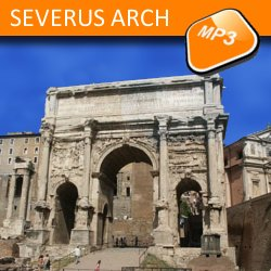 The mp3 audio visit Arch of Septimius Severus
