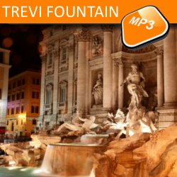 The mp3 audio visit Trevi Fountain